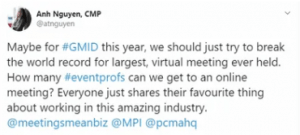 Spark Event Management GMID Goes Virtual